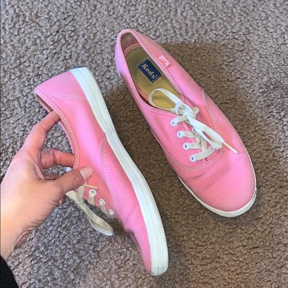 Vintage Pink KEDS- 7